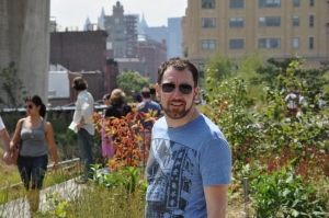 Chris at the High Line