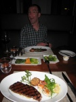 Fantastic steaks at Beacon